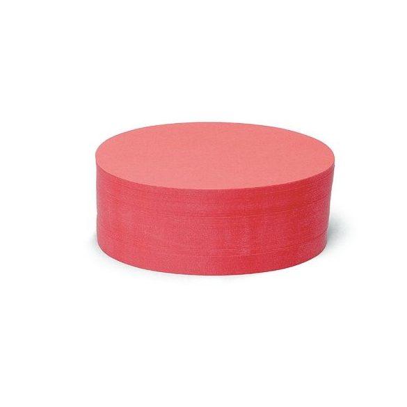 Ovális Pin-It 9,5x20,5 cm moderációs kártya 500 db piros