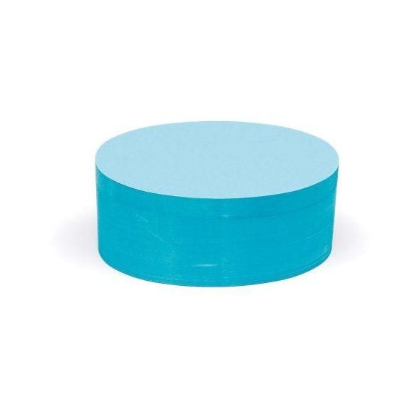 Ovális Pin-It 9,5x20,5 cm moderációs kártya 500 db kék