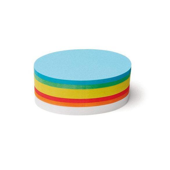 Ovális Pin-It 9,5x20,5 cm moderációs kártya 500 db vegyes