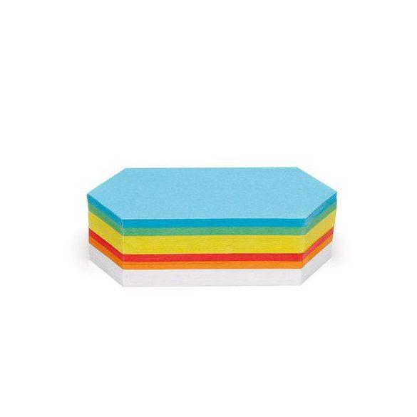 Rombusz Pin-It vegyes moderációs kártya 250 db
