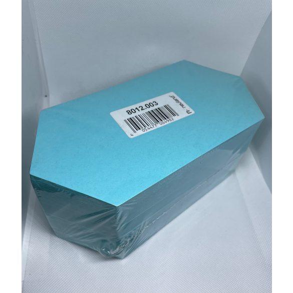 Rombusz Pin-It 9,5x20,5 cm moderációs kártya 500 db kék