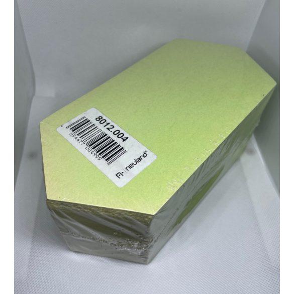 Rombusz Pin-It 9,5x20,5 cm moderációs kártya 500 db zöld