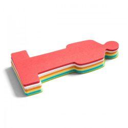 Stick-It Moderációs emberke Stick-it moderációs kártya 150 db, vegyes szín