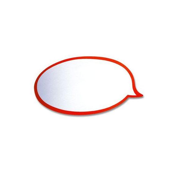 Beszédbuborék Pin-It moderációs kártya 50 db