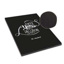 myNotepad fekete jegyzettömb