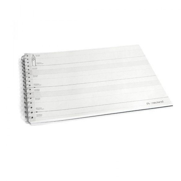 Kézírás gyakorlásához jegyzetfüzet