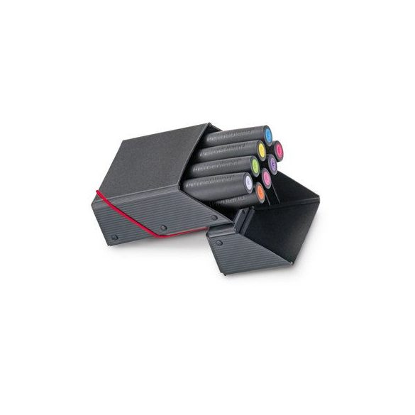 Novario® Markerbox Flat, fekete