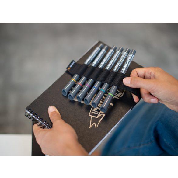 mySketchbook vázlatfüzet, fekete színű