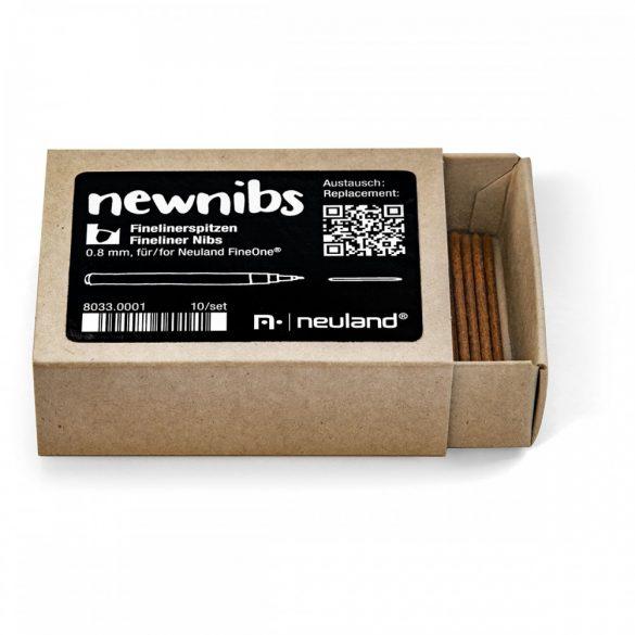 Cserélhető hegy Neuland FineOne® markehez, kerek hegy, 0.8 mm PRE 07/20 - kifutó termék