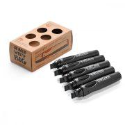 Neuland BigOne®, vágott hegyű 6-12 mm, 5 db/készlet, fekete, 80422100