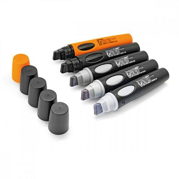 Neuland BigOne®, vágott hegyű 6-12 mm, 5 db/szett - No. 10 From Grey to Black - 80422195