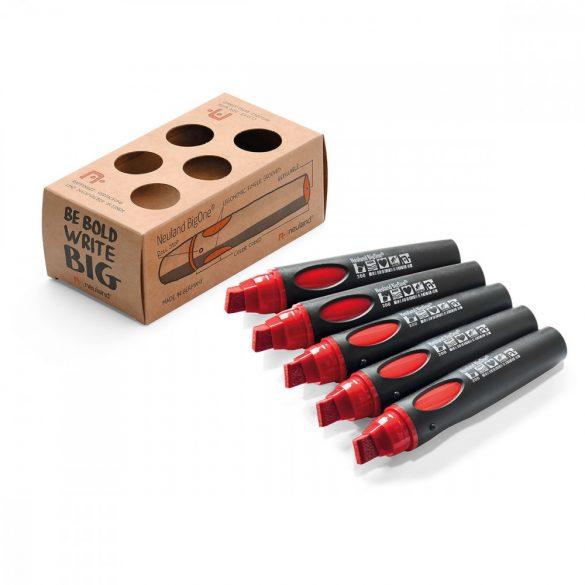Neuland BigOne®, vágott hegyű 6-12 mm, 5 db/készlet, piros,  80422200