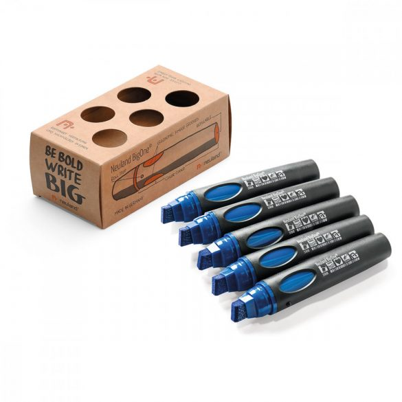 Neuland BigOne®, vágott hegyű 6-12 mm, 5 db/szett, kék, 80422300