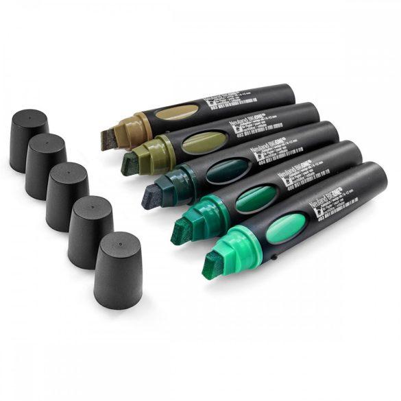 Neuland BigOne®, vágott hegyű 6-12 mm, 5 db/készlet - No.12 Back to green - 80422491