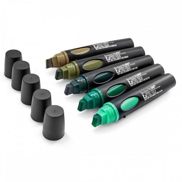 Neuland BigOne®, vágott hegyű 6-12 mm, 5 db/szett - No.12 Back to green - 80422491