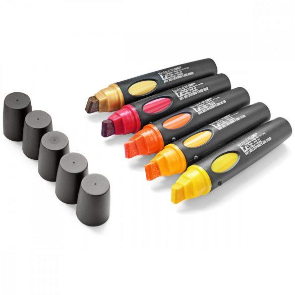Neuland BigOne®, vágott hegyű 6-12 mm, 5db/készlet - Sunset - 80422992