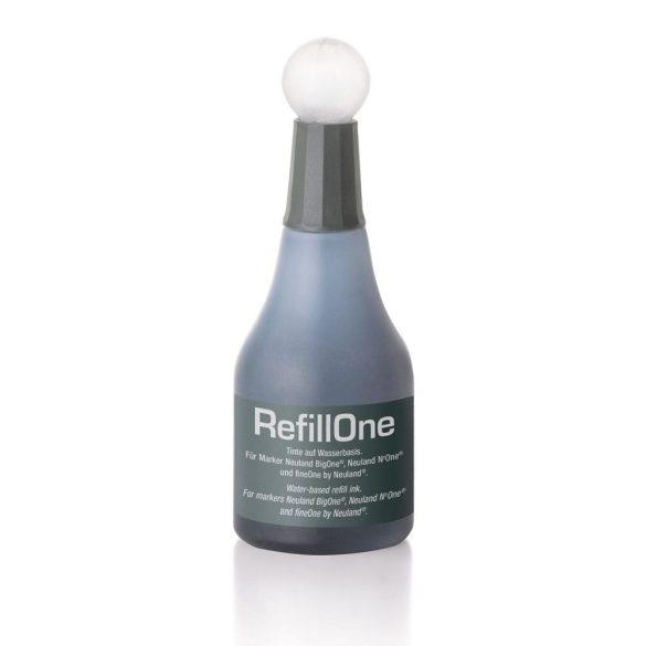 Neuland Utántöltő tinta RefillOne BigOne- fineOne és moderációs markerhez 1 db szürke (104-es)