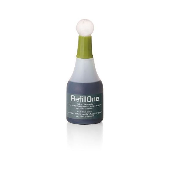 Neuland Utántöltő tinta RefillOne BigOne- fineOne és moderációs markerhez 1 db olív 80440402