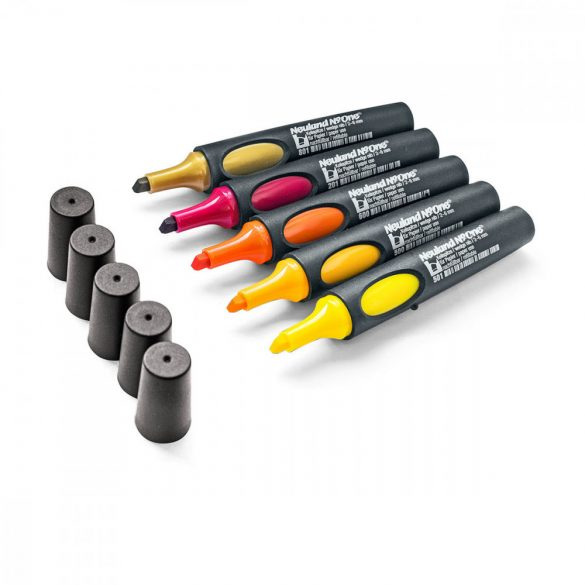 Neuland No.One®, wedge nib 2-6 mm: 5/set