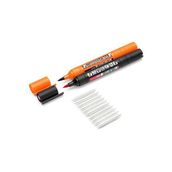 Cserélhető ecsethegy Neuland TwinOne® filctollakhoz - 10-es szett