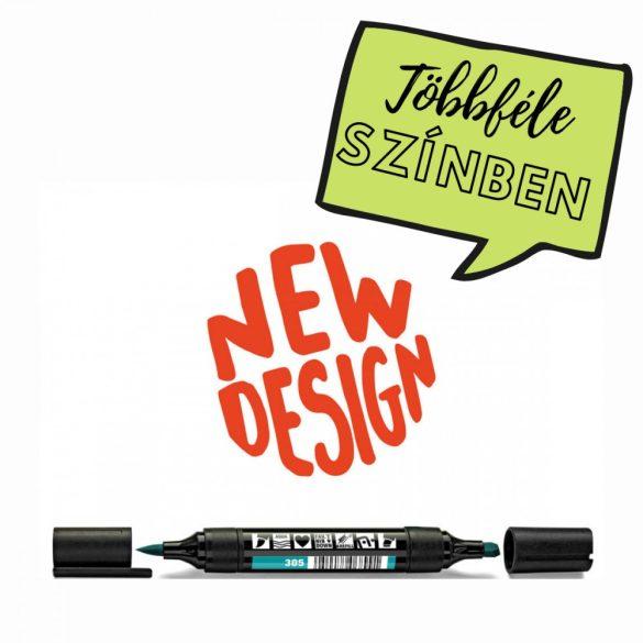 Neuland TwinOne®, vágott és ecsethegyű moderációs marker, óceán 80540305