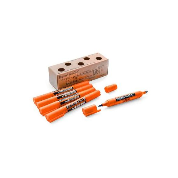 Neuland TwinOne® Outliner, vágott- és ecsethegyű, 5 db/szett  U5 - kontúrfilc
