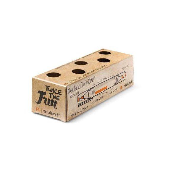 Neuland TwinOne®, vágott- és ecsethegyű, 5 db/szett - Fekete