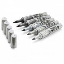 Neuland No.One® ArtMarker 5db/készlet: a szürke több árnyalata