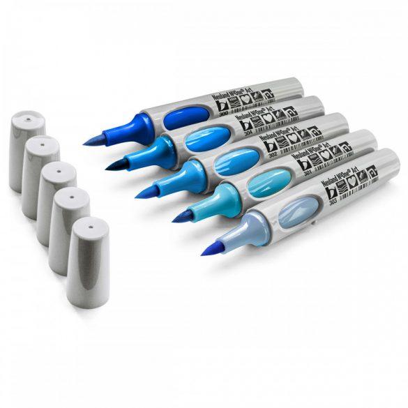Neuland No.One® Art, ecsethegyű 0,5-7 mm, 5 db/készlet - Blue Sky, 80592391