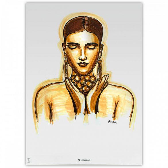 Neuland No.One® Art, ecsethegyű 0,5-7 mm, 5 db/készlet - Deep Desert, 80592894