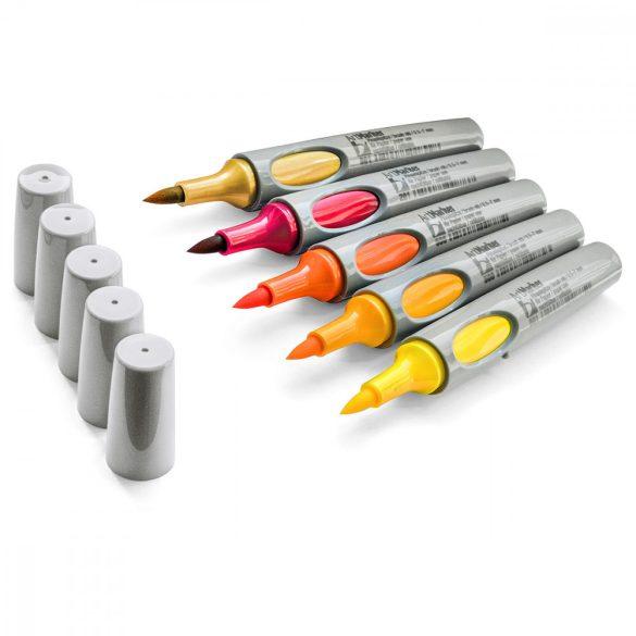 Neuland No.One® Art, ecsethegyű 0,5-7 mm, 5 db/készlet - Sunset, 80592992