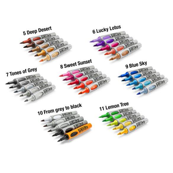 Neuland No.One® Art, ecsethegyű 0,5-7 mm, 5 db/készlet- Pink Amethyst, 80592993