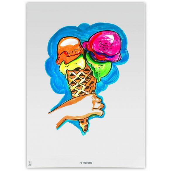 Neuland No.One® Art, ecsethegyű 0,5-7 mm, 5 db/készlet - Ice in the Sunshine, 80592995