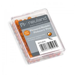 Gombostű 6 mm 100 db narancssárga