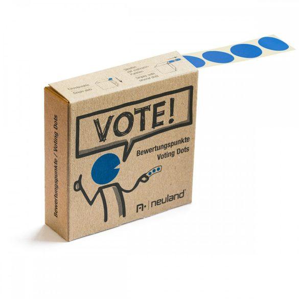 VOTE! Jelölőpont tekercs 20 mm kék