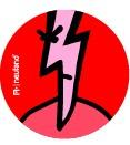 VizDots Szimbólum matricák - villám