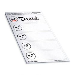 NameBadges Stickers - with face