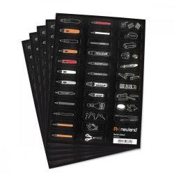 Novario® Stickers - matricák