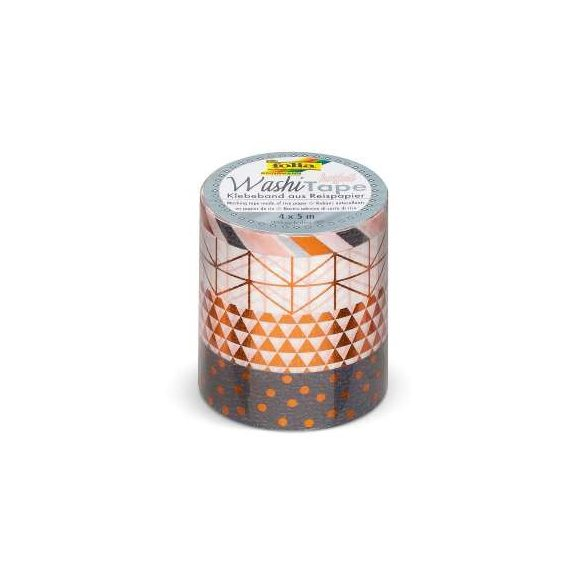 Washi Dekortapasz - Hotfoil Kupfer