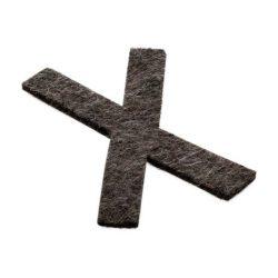 X-raser® magnetic Táblatörlőhöz  betét 5/Szett