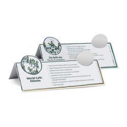 World Café Etiquette Cards
