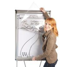Átlátszó fólia flipchart papírhoz, Bikablo poszterhez