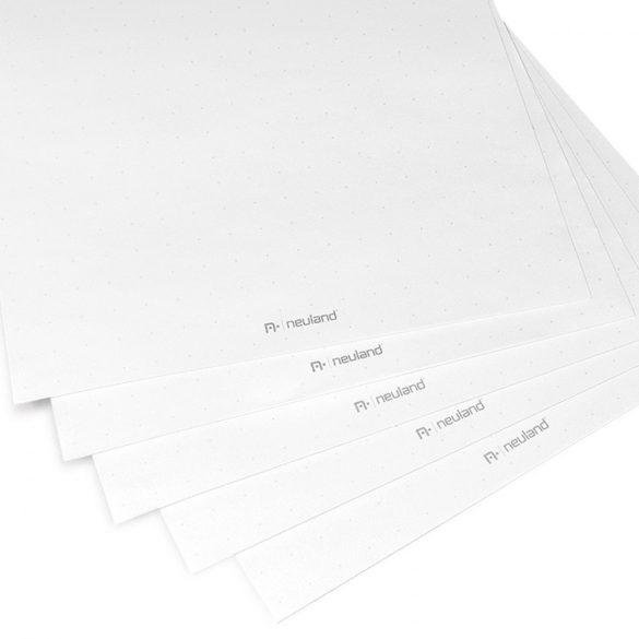Mini FlipChart papír TableTop-hoz, jelölőkereszttel, fehér