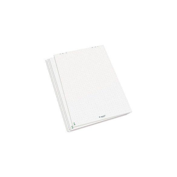 Flipchart papír fényes fehér jelölőkeresztes