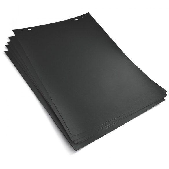 FlipChart papír TableTop-hoz és TopChart-hoz, fekete