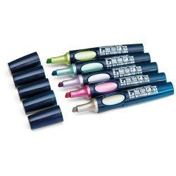 Neuland No.One® Metallic, Meadow 2-6 mm vágott hegyű markerek - 5-ös szett