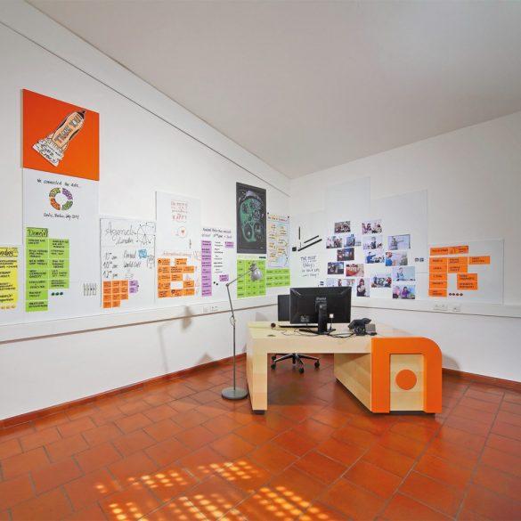 ProcessWall Whiteboard 75x 75 cm