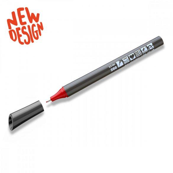 Neuland FineOne® Sketch, 0.5 mm, vékony hegyű, piros, 88220200
