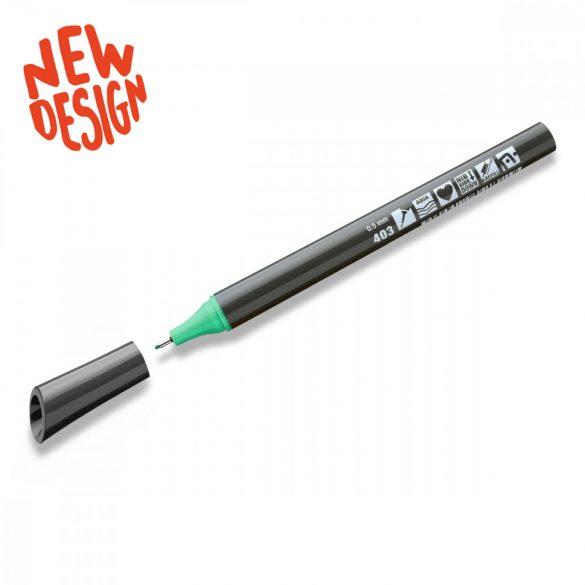 Neuland FineOne® Sketch, 0.5 mm, vékony hegyű, pasztell zöld, 88220403