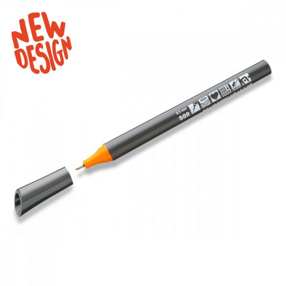Neuland FineOne® Sketch, 0.5 mm, vékony hegyű, fénylő sárga, 88220500